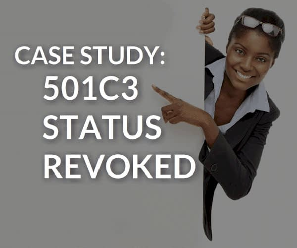 501c3 Revoked Before Application Was Mailed